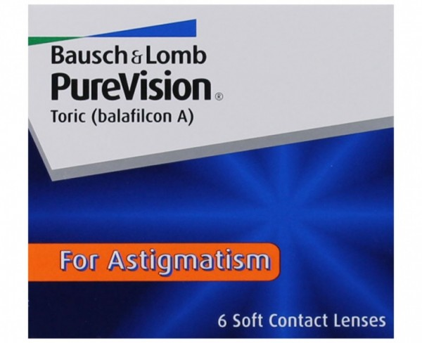 PureVision Toric For Astigmatism Monatslinsen
