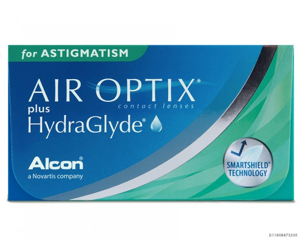 Air Optix Hydraglyde for Astigmatism Monatslinsen