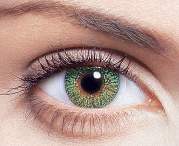 FreshLook Colors Green Monatslinsen