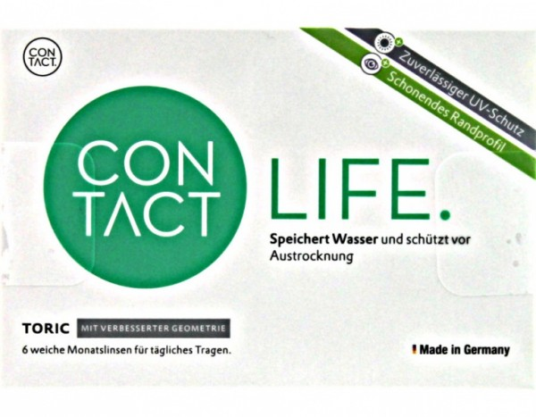 Contact Life Toric Monatslinsen