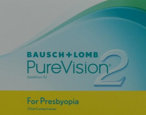 PureVision 2 For Presbyopia Monatslinsen