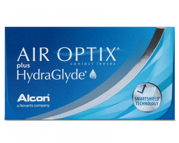 Air Optix plus Hydraglyde Monatslinsen